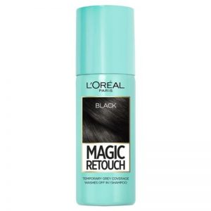 Magic Retouch Root Touch Up Hair Color Spray – Black 75ml