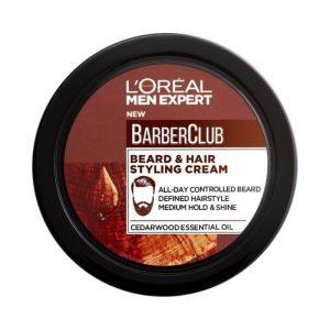 Barber Club Beard & Hair Styling Cream – 75ml