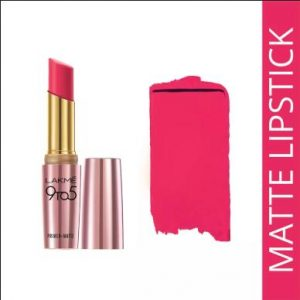 Lakme 9 to 5 matte MP 16 Pink Perft 3.6M