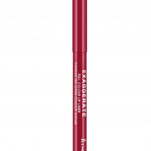 Rimmel London, Exaggerate Automatic Lip Liner – Red Diva, a true red shade
