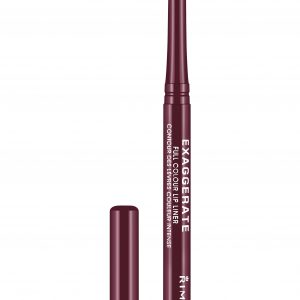 Rimmel London, Exaggerate Automatic Lip Liner – Obsession,  a rich burgundy shade