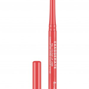 Rimmel London, Exaggerate Automatic Lip Liner – Peachy-Beachy,  a bright coral shade