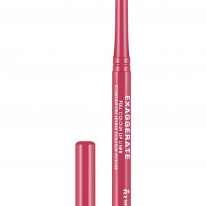Rimmel London, Exaggerate Automatic Lip Liner – Pink A Punch, a vibrant pink shade