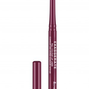 Rimmel London, Exaggerate Automatic Lip Liner – Under My Spell,  a rich plum shade