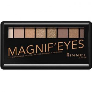 Rimmel London, Magnif'Eyes Eye Contouring Palette – Keep Calm & Wear Gold, A mix of  Golden Nude Shades
