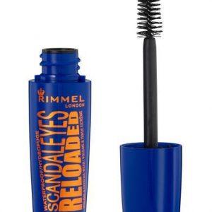Rimmel London Scandaleyes Reloaded Waterproof Mascara- Black