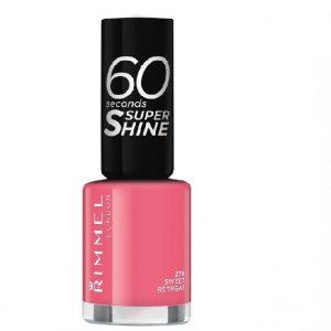 Rimmel London, 60 Seconds Super Shine  Nail Polish -SWEET RETREAT, a sweet candy pink.