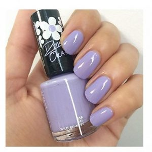 Rimmel London, 60 Seconds Super Shine Nail Polish -GO WILD-ER-NESS, a lovely lavender purple.
