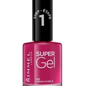 Rimmel London, Super Gel – Urban Purple, , a glossy berry shade.