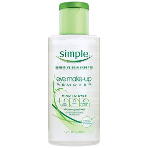 SIMPLE KIND TO EYES MAKEUP REMOVER 13 125ML