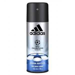 ADIDAS UEFA CHAMPIONS LEAGUE ARENA EDITION DEODORANT BODY SPRAY FOR HIM