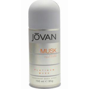Jovan Musk Deodorant Spray for Men, 150 ml