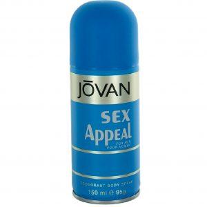 Jovan Musk Appeal Deodorant Spray For Men 150ml Blue