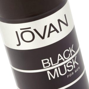 Jovan Black Musk Deodorant Spray for Men, 150ml