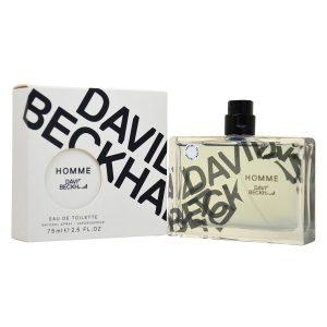David Beckham Homme – perfume for men, 75 ml – EDT Spray