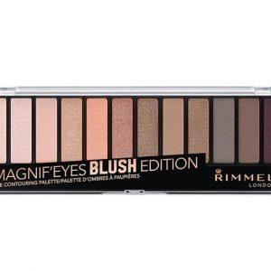 Rimmel London, Magnif'Eyes Eye Contouring Palette- 002 Blush  Edition.