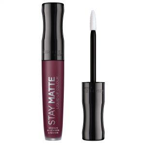 Rimmel London,  Stay Matte Liquid Lip Colour, 0.18fl oz 5.5ml, 800 Midnight