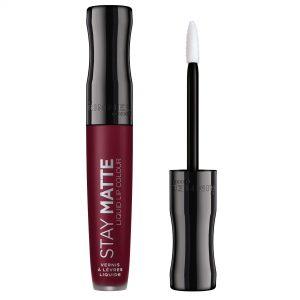 Rimmel London,  Stay Matte Liquid Lip Colour, 0.18fl oz 5.5ml, 810 Plum This Show