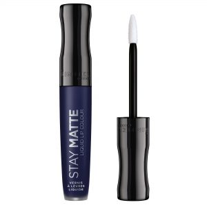 Rimmel London,  Stay Matte Liquid Lip Colour, 0.18fl oz 5.5ml, 830 Blue Iris