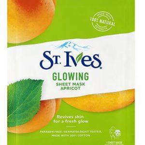 St. Ives Glowing Sheet Mask Apricot 23 ml