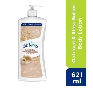 St. Ives Soothing Oatmeal & Shea Butter Body Lotion 21 Oz