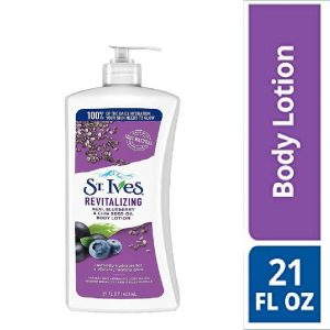 St. Ives Blue Berry Body Lotion 21 Oz