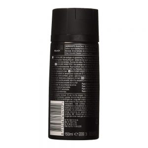Axe Deodorant Body Spray Black Mens Fragrance 150ml