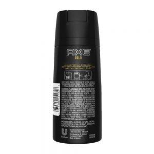 Axe Deodorant Body Spray Gold Mens Fragrance 150ml