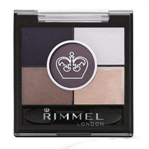 Rimmel London, Glameyes HD 5 Pan Eye Shadow, 023 Foggy Grey, a mixture of greys and browns
