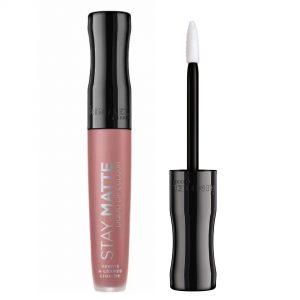 Rimmel London Stay Matte Liquid Lip Colour – 0.18fl oz, 709 Strapless