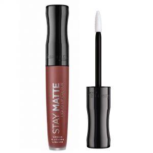 Rimmel London Stay Matte Liquid Lip Colour – 0.18fl oz, 723 Troublemaker