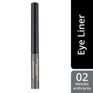 Max Factor Colour Expert Eyeliner, 02 Metallic Anthracite, 1.7ml