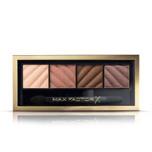 Max Factor Smokey Eye Matte Drama Kit, Eyeshadow Palette, 10 Alluring Nudes, 1.8g