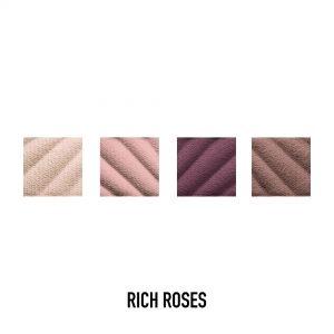 Max Factor Smokey Eye Matte Drama Kit, Eyeshadow Palette, 20 Rich Roses, 1.8g
