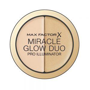 Max Factor Miracle Glow Duo, Pro Illuminator, 10 Light, 11g