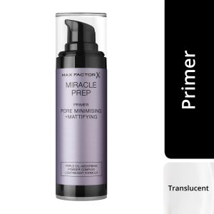 Max Factor Miracle Prep Pore Minimising + Mattifying Primer, 30ml