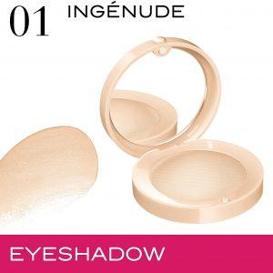 Bourjois, Little Round Pot. Eyeshadow. 01 Ing?nude . 1.7g