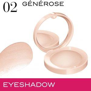 Bourjois, Little Round Pot. Eyeshadow. 02 G?n?rose . 1.7g