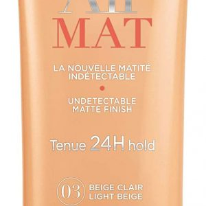 Bourjois, Air Mat 24H. Foundation. 03 Light Beige . 30 ml – 1.0 fl oz