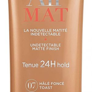 Bourjois, Air Mat 24H. Foundation. 07 Dark tan. 30 ml – 1.0 fl oz