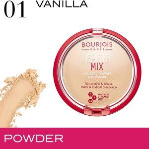 Bourjois Healthy Mix Anti-Fatigue Powder 01 Vanilla, 11g/0,38 oz