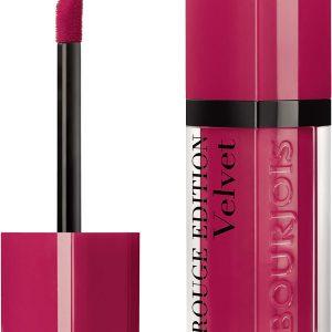 Bourjois, Rouge Edition Velvet. Liquid lipstick. 13 Fu(n)chsia. Volume: 6.7ml – 0.23fl oz
