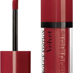 Bourjois, Rouge Edition Velvet. Liquid lipstick. 01 Personne ne rouge!. 6.7ml – 0.23fl oz