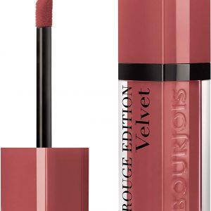 Bourjois, Rouge Edition Velvet. Liquid lipstick. 04 Peach Club. Volume: 6.7ml – 0.23fl oz