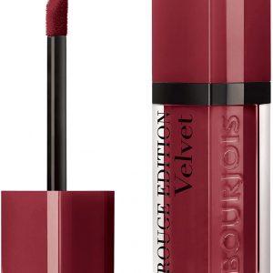 Bourjois, Rouge Edition Velvet. Liquid lipstick. 24 Dark Ch?rie. Volume: 6.7ml – 0.23fl oz