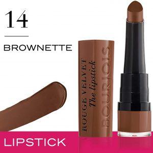 Bourjois Rouge Velvet The Lipstick 14 Brownette, 2.4g – 0.08oz