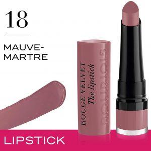 Bourjois Rouge Velvet The Lipstick 18 Mauve-martre 2.4g – 0.08oz