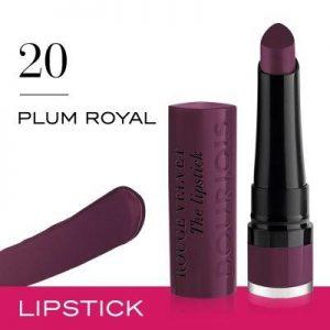 Bourjois Rouge Velvet The Lipstick 20 Plum Royal 2.4g – 0.08oz