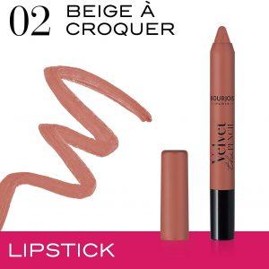 Bourjois Velvet The Pencil 02 Beige ? croquer 3g – 0.106oz