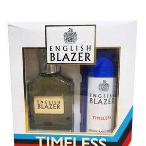 English Blazer -TIMELESS (EDT 100ML + DEO SPRAY 150ML)